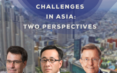 The Impact on Japan of Geostrategic Challenges in Asia: Two Perspectives